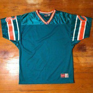 Vintage Mens XL Miami Dolphins BLANK Logo Rawlings